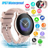 Bluetooth Smart Watch Calls Heart Rate Blood Pressure Waterproof For Android IOS