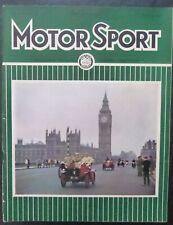 Revista Motor Sport -Vol XXXVII-No.12-1961-December -London-The Teesdale