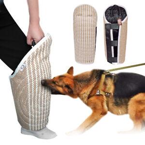 Professional Jute Dog Training Bite Sleeve Leg Protector German Shepherd Bulldog