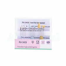 Dental Enamel and Porcelain Teeth Polishing Kits RA0409 Used For Low-speed