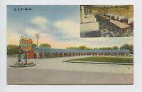 Adairsville, GA - VINTAGE MULTIVIEW POSTCARD - US 41 MOTEL & RESTAURANT - V