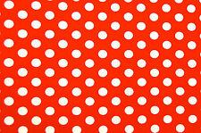 Punkte Tupfen Stoff 100 % Baumwolle Stoffe Patchwork Kinderstoff Deko Bekleidung