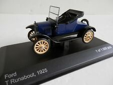 WhiteBox WBX145. 1/43. Ford T Runabout. 1925. Blue.
