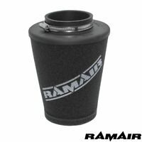 76mm ID Neck - Universal Ramair Polymer Base Cone Air Filter Intake Induction