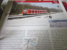 Archiv  Eisenbahnstrecken 363.3 Lehrte Celle