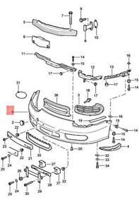 Genuine PORSCHE Boxster 986 Trim 98650531108