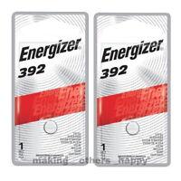 2 Energizer 392 Silver Oxide Batteries (LR41, 192, 384, SR41SW)