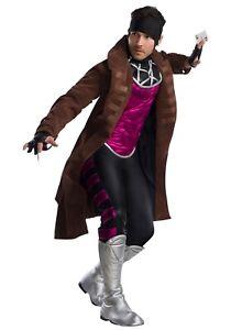 Marvel Charades X-Men Gambit Adult Costume Size Medium