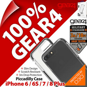 """Gear4 Piccadilly D3O Protection Case for Apple iPhone 6 / 6S / 7 / 8 Plus (5.5"""")"""