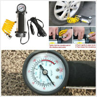 Portable DC 12V Car Tire Tyre Inflator Pump Air Compressors 100 PSI Accessories