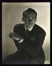 "1934 Silver Print Portrait, Douglas Fairbanks Jr, Horst P. Horst, 9 3/8 x 7 1/4"""