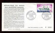 Niger - Enveloppe FDC 1966 - Navire météorologique - O 292