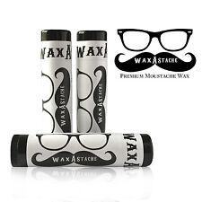 Wax-A-Stache Original Scented Moustache Wax 3pack .15oz each IT'S THE BEST WAX!