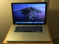 Apple MacBook Pro 15.4 inch 500GB 16GB RAM Silver