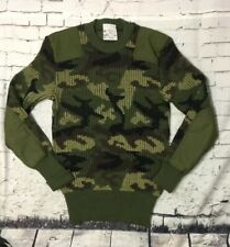 "Brigade Quartermasters ""Woolly Pully"" Commando Sweater 100% Wool Camo 42 Medium"