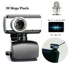 Rotatable USB 2.0 Computer Webcam with Microphone PC Digital HD Video Camera HF