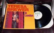 TERESA BREWER IN LONDON Signature LP NM ALBERT LEE Come Running PETER FRAMPTON