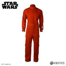 1:1 ANOVOS Star Wars Classic Rebel X-Wing Pilot Orange Jumpsuit NEW M Medium