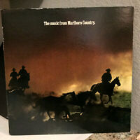 """The Music From MARLBORO COUNTRY Compilation - 12"""" Vinyl Record - EX"""