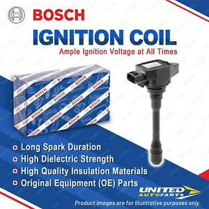 1 x Bosch Ignition Coil for Renault Koleos HY 2.5L 126KW 4cyl 2008-2016