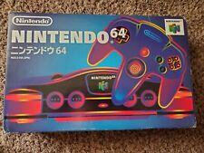 Japanese nintendo 64 console Box
