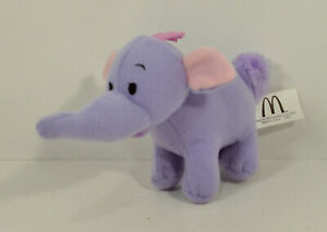 "2005 Lumpy Elephant 5"" McDonald's EUROPE Plush Figure Disney Winnie The Pooh"