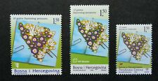 Bosnia Herzegovina Serbia Joint Issue Dayton Agreement 2005 Flower (stamp) MNH