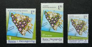 Bosnia Herzegovina Serbia Joint Issue Agreement 2005 Flower (stamp) MNH