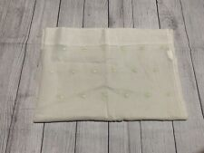 Pottery Barn Kids Sheer Green Polka Dot Curtain Panels 2X