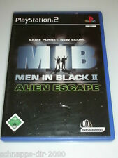 Men in Black II Alien escape MIB sin instrucciones PlayStation 2 ps2