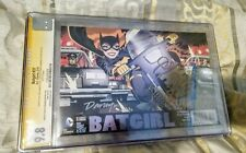 Batgirl #37 CGC 9.8 Signed x4 RARE variant !