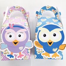 ***SOLD OUT*** 6x Giggle And Hoot Hootabelle Lolly Loot Bag Box. Party Supplies