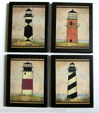 Lighthouses wall decor ocean signs nautical plaques coastal lighthouse pictures