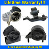 K0445 Motor&Trans Mount 4pcs For 90-92 Toyota Corolla 1.6L 2WD AUTO 4Speed