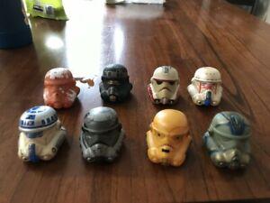 Disney Parks Star Wars Legion Helmet Series 2,3,4 Vinylmation Set of 8