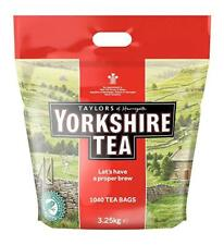 NEW Yorkshire 1 Cup 1040 TEABAGS LONG EXPIRY DATE