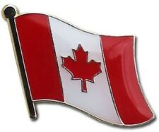 Canada Canadian Country Flag Bike Motorcycle Hat Cap lapel Pin