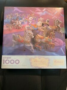 Vintage Springbok Puzzle - Carousel Animals 1000 pc New Discounts possible