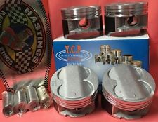 YCP B16 B18 B20 84.5mm High Compression Pistons + Rings kit Honda Acura