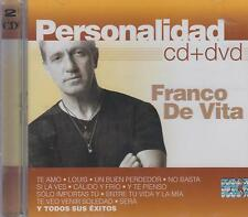 CD - Franco De Vita NEW Personalidad 1 CD & 1 DVD FAST SHIPPING !