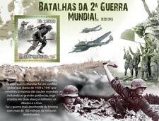 Batallas de la segunda guerra mundial (Okinawa/Berlin/ve día) sello hoja 2010 St. Tomé & Principe