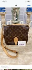 Vintage Louis Vuitton Monogram St. Cloud Crossbody Handbag, Authentic