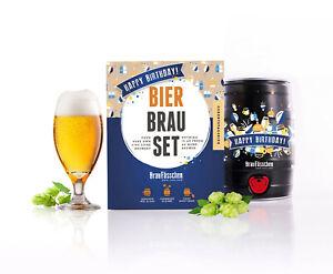 !NEU! das Geburtstagsbier / Braufässchen DIY Bierbrauset Bier selber Brauen NEU!