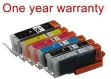 6 ink toner cartridge for Canon 250 251 Pixma MG7120 Cannon inkjet color printer