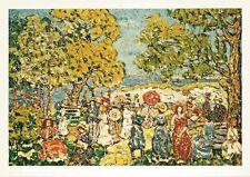 Postcard Maurice Prendergast Landscape w Figures Munson-Williams-Proctor MINT