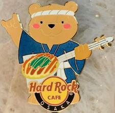 Hard Rock Cafe UC OSAKA 2013 OSAKA LOVER Series PIN #6 Teddy Bear - HRC #70856