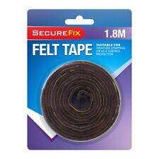 1.8 Meter x 25mm Self Adhesive Felt Tape | Scratch-Resistant Protection