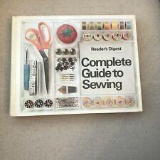 Vintage 1978 Readers Digest Complete Guide to Sewing Illustrated TIPS REFERENCE
