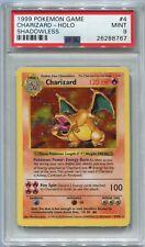 Pokemon Base Set Shadowless Card #4 Charizard PSA 9