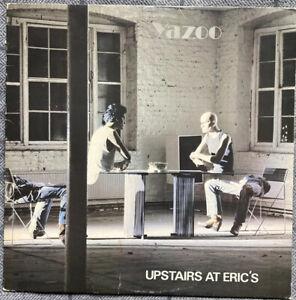 """YAZOO UPSTAIRS AT ERICS 12"""" LP 1982 MUTE STUMM7 VG/VG-"""